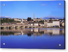 New Ross, Co Wexford, Ireland Acrylic Print by The Irish Image Collection