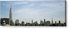 New York City Skyline Acrylic Print by Axiom Photographic