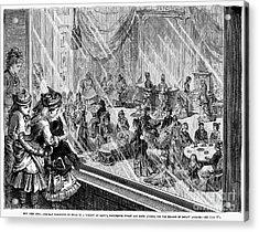 New York: Macys, 1876 Acrylic Print by Granger