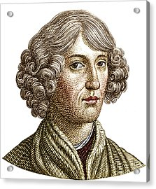 Nicolaus Copernicus, Polish Astronomer Acrylic Print by Science Source
