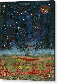 Night Scape Acrylic Print by Ralf Schulze