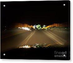 Night Vision Acrylic Print by Greg Geraci