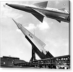 Nike Missile, C1959 Acrylic Print by Granger