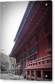 Nikko Monastery Acrylic Print by Naxart Studio