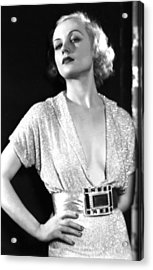 No Man Of Her Own, Carole Lombard, 1932 Acrylic Print by Everett