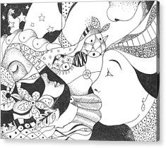 No Ordinary Dream Acrylic Print by Helena Tiainen