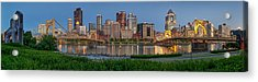 Nor'side Pano Acrylic Print by Jennifer Grover