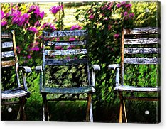 Not Forgotten Acrylic Print by Terence Morrissey