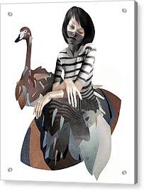 November Acrylic Print by Ruben Ireland