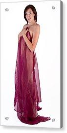 Nude 23 Acrylic Print by Studiodreas Photography