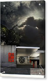 Oakland Museum Of California . 7d13039 Acrylic Print by Wingsdomain Art and Photography