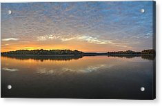 October Sky Acrylic Print by Brian Mollenkopf