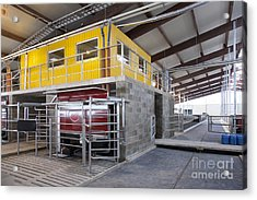 Office And Milking Machine Acrylic Print by Jaak Nilson