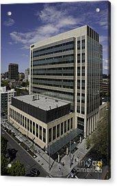 Office Building Acrylic Print by Robert Pisano