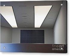 Office Ceiling Acrylic Print by David Buffington