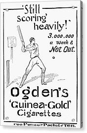 Ogdens Cigarettes, 1897 Acrylic Print by Granger