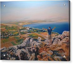 Oh Isreal Acrylic Print by Terri Thompson