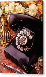 Old Bell Telephone Acrylic Print by Garry Gay