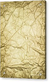 Old Brown Paper Acrylic Print by Blink Images
