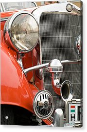 Old Car Detail Acrylic Print by Odon Czintos