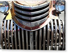 Old Chevrolet - 5d16443 Acrylic Print by Wingsdomain Art and Photography