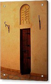 Old Door Acrylic Print by Radoslav Nedelchev