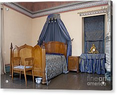 Old-fashioned Manor Bedroom Acrylic Print by Jaak Nilson