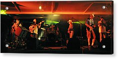 Old Friends Band Reunion Acrylic Print by Mary Frances