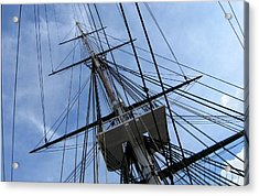 Old Ironsides Acrylic Print by Anne Babineau