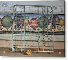 Old Kitchen Acrylic Print by Todd Sherlock
