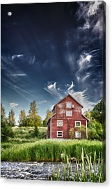 Old Mill Acrylic Print by Matti Ollikainen