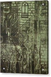 Old Oriental Story Acrylic Print by Ousama Lazkani