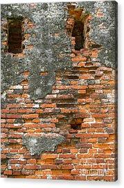 Old Ruins Acrylic Print by Yali Shi