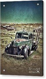Old Rusty Truck Acrylic Print by Jill Battaglia