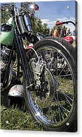 Old School Acrylic Print by Peter Chilelli
