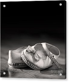 Old Shoes Acrylic Print by Jane Rix