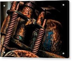 Old Springs Acrylic Print by Christopher Holmes