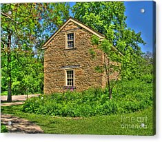 Old Stone House I Acrylic Print by Jimmy Ostgard