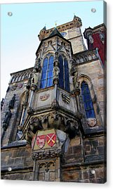 Old Town City Hall Acrylic Print by Mariola Bitner
