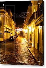 Old Town San Juan Acrylic Print by Gordon Engebretson