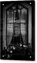 Old Window Acrylic Print by Micael  Carlsson