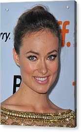 Olivia Wilde At Arrivals For Butter Acrylic Print by Everett