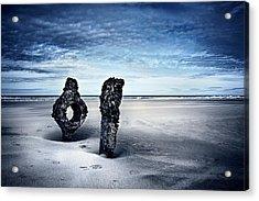On A Coast Acrylic Print by Svetlana Sewell