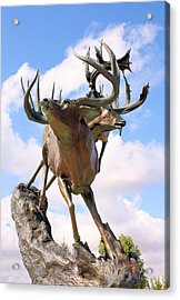 On Top Of The World Acrylic Print by Kristin Elmquist