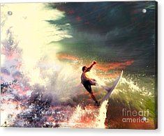 One Last Ride Acrylic Print by Kevin Moore