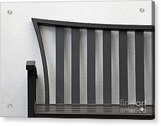 Open Seating Acrylic Print by Dan Holm