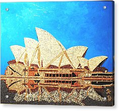 Opera Of Sydney Acrylic Print by Kovats Daniela