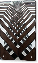 Optical Illusion Acrylic Print by Keith Allen