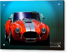 Orange Cobra Acrylic Print by Stuart Row