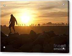 Ordinary Day Extraordinary Life Acrylic Print by Artist and Photographer Laura Wrede